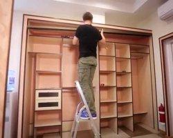 Из чего делают шкаф-купе: методика