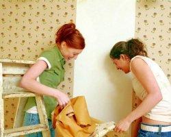 Поклейка обоев: как подготовить стены