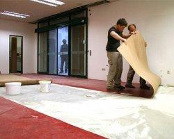 Укладка линолеума своими руками – знакомимся с пошаговой инструкцией