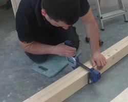 Инструкция как сделать деревянную лестницу