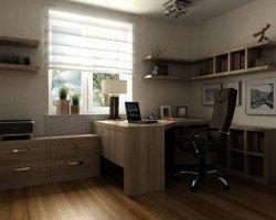 Классический стиль в оформлении домашнего кабинета
