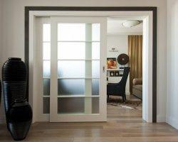 Тип дверей: раздвижные