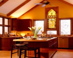 Полный фен-шуй на кухне