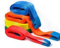 Текстильные стропы. Маркировка и грузоподъёмность