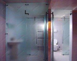 Удобство стеклянных дверей