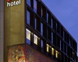 Дизайн интерьера лондонского отеля citizenM