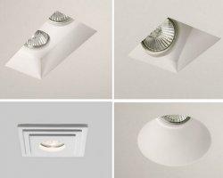 Гипсовые светильники под покраску – доступная роскошь