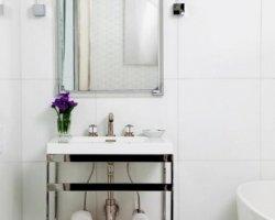 Дизайн интерьера ванной комнаты для девушки