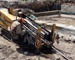 Ремонт канализации при помощи ГНБ