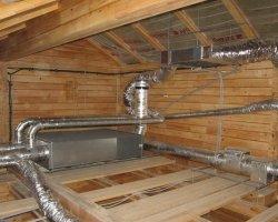 Проект вентиляции частного дома