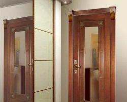Преимущества и недостатки входных дверей с зеркалом