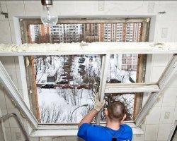 Установка пластиковых окон зимой и все нюансы этого процесса