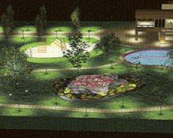 Ландшафтное освещение. Дизайн освещения загородного дома и участка
