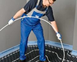 Устройство водяного теплого пола