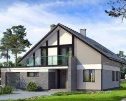 Проектирование дома с мансардой