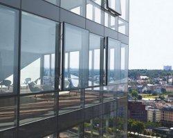 Стеклянные фасады: современно и функционально