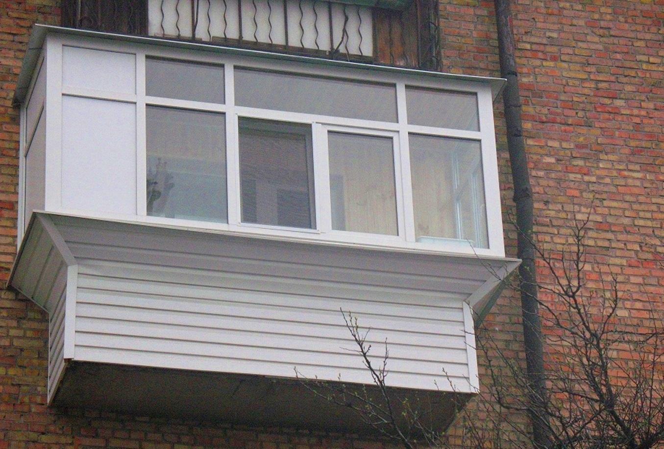 Вынос балконов в могилеве.